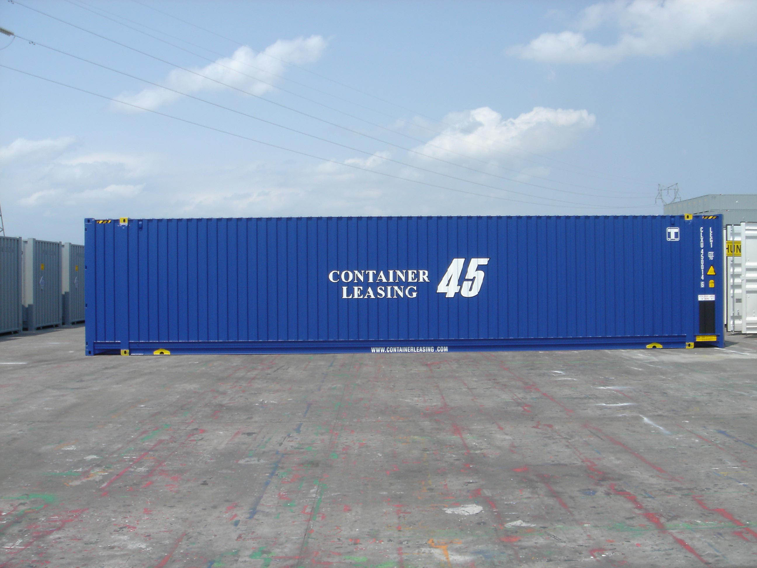 Container premier voyage achat containers for Prix achat container