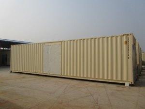container 40' pieds avec grande porte lateral