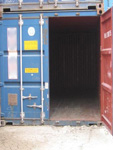 container blue doccasion